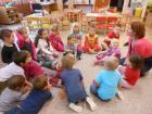 Seznámení dětí z MŠ se svou budoucí paní učitelkou 1.třídy